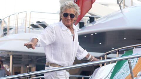 PHOTOS Rod Stewart à Saint-Tropez: le chanteur et sa femme ont adopté «une fille»