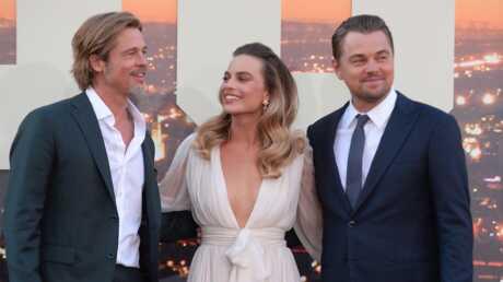 PHOTOS Brad Pitt, Leonardo Dicaprio et Margot Robbie: trio de charme à l'avant-première du dernier Tarantino