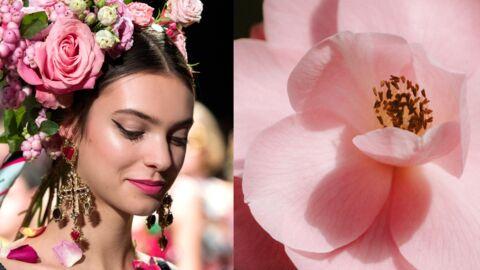 Make-up, coiffure – Adoptez la tendance fleurs