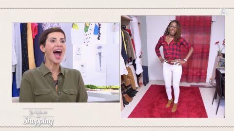 VIDEO Les Reines du shopping: l'étrange technique d'une candidate pour apprendre à défiler