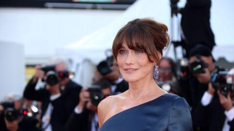 Carla Bruni rend hommage à Yves Saint Laurent et se fait recadrer par un internaute
