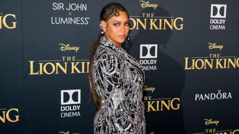 Beyonce: très estivale en short taille haute et petite blouse à pois