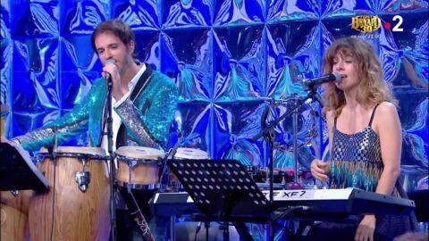 VIDEO Nagui dans l'embarras: ses choristes Fabien et Magali font une folle révélation