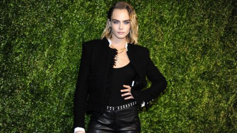 Cara Delevingne – On veut son beauty look coloré