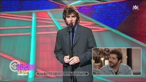 VIDEO Patrick Fiori déstabilisé: ce qui a failli le faire renoncer à l'Eurovision en 1993