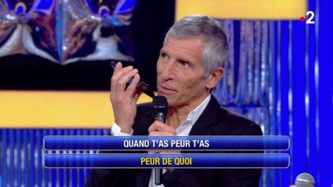 VIDEO Quand Nagui appelle une grande star de la chanson française pour lui confirmer des paroles