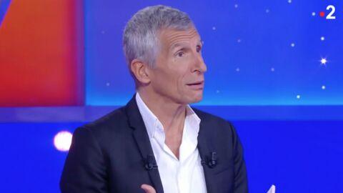 VIDEO Nagui se fait (gentiment) rembarrer par un candidat fan de football