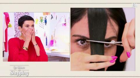 VIDEO Les Reines du shopping: Cristina Cordula choquée par le geste radical d'une candidate