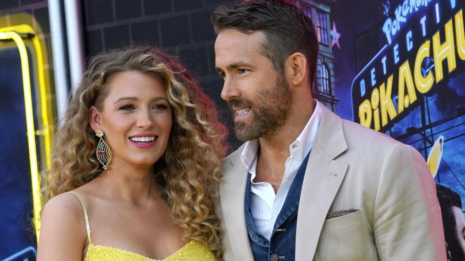 Blake Lively enceinte de son troisième enfant : comment elle gère le stress de Ryan Reynolds