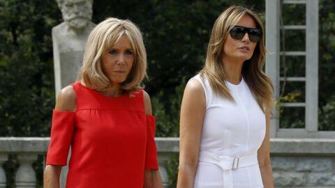 Brigitte Macron: le petit caprice de Melania Trump en marge du G7