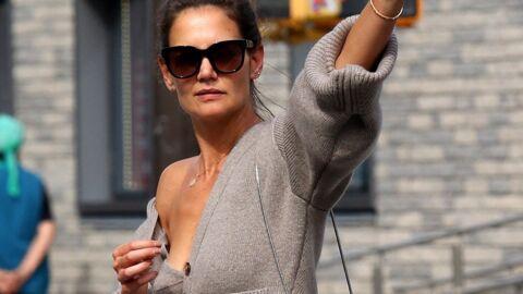 PHOTOS Katie Holmes prise en flag' à New York, elle dévoile ses dessous