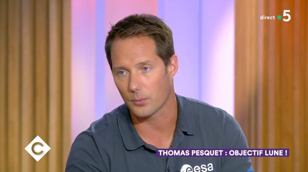 VIDEO Thomas Pesquet rêve de s'installer sur la lune