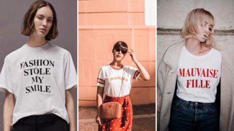 Comment porter le tee-shirt à message?