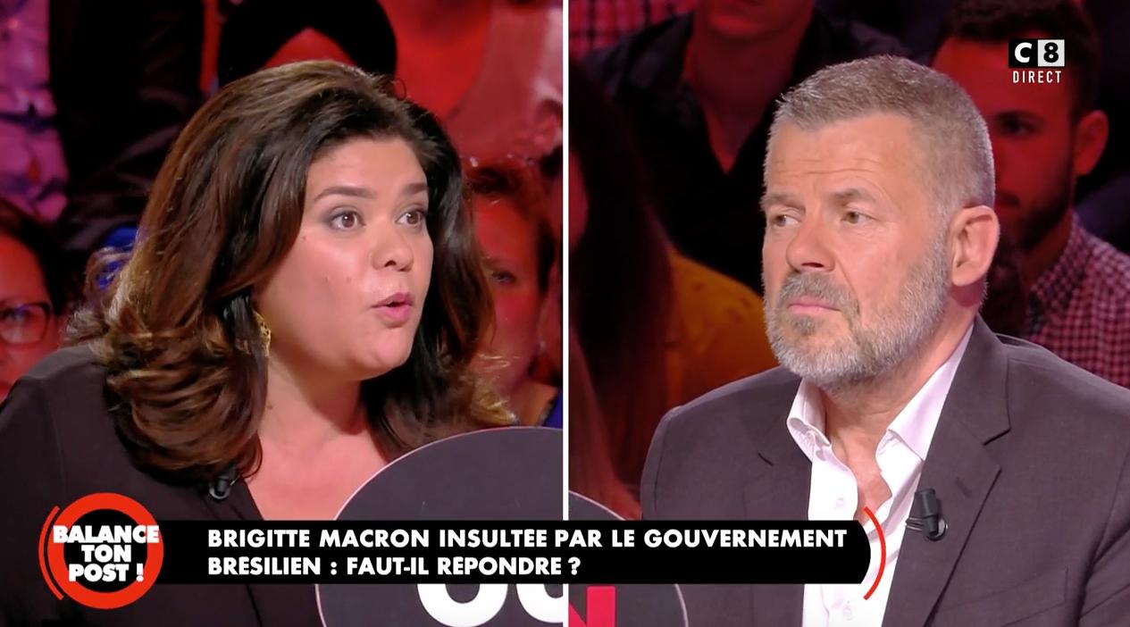 VIDEO Balance ton post : Raquel Garrido et Éric Naulleau s'écharpent en plateau
