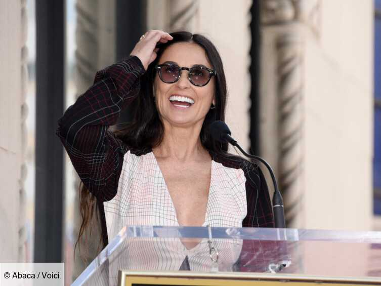 Demi Moore poses naked at 56