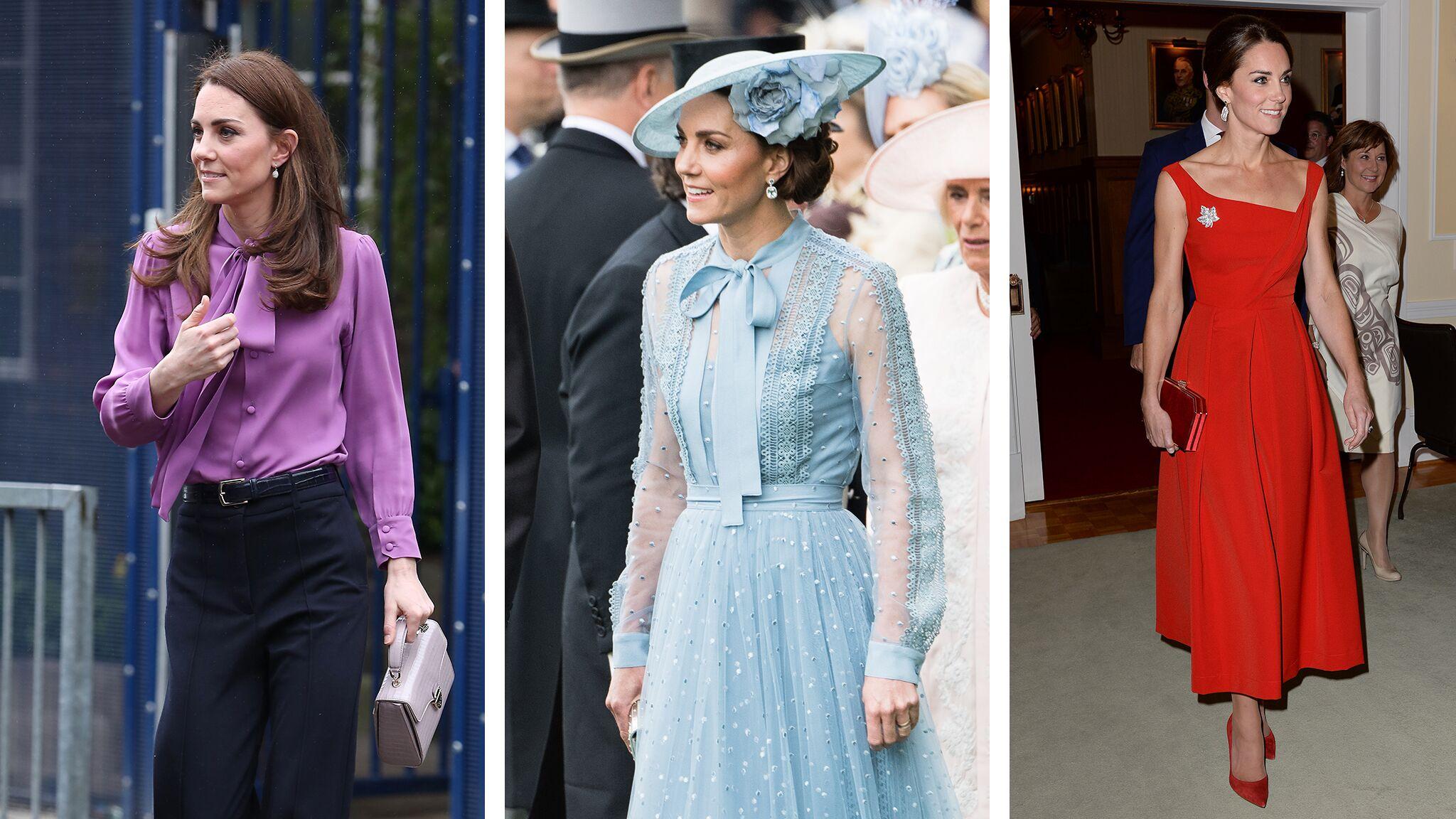 Kate Middleton : les looks colorés qu'on adore lui voir porter