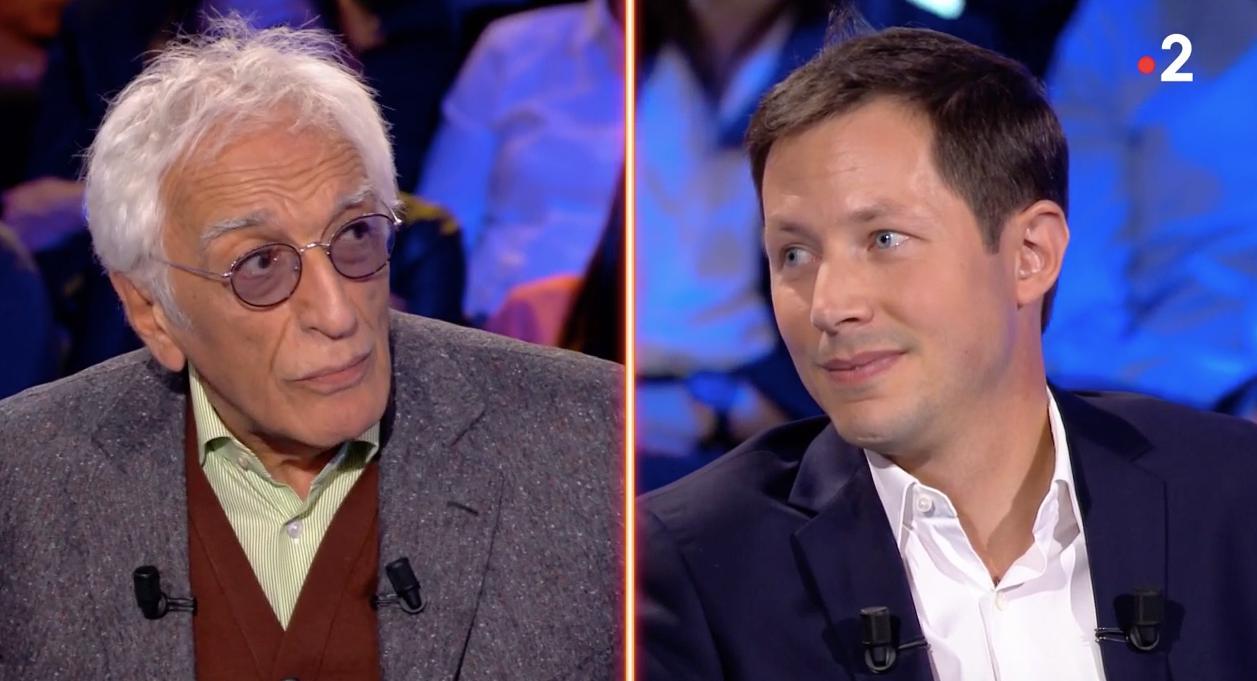 On n'est pas couché : Gérard Darmon clashe le député Françoix-Xavier Bellamy