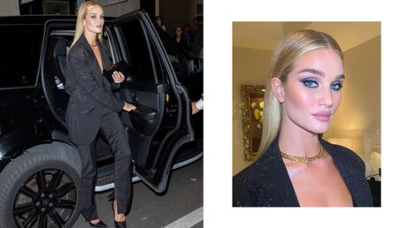 Fashion week : on veut le smoky eyes de Rosie Huntington-Whiteley !