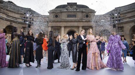 Fashion week: les stars défilent pour L'Oréal Paris