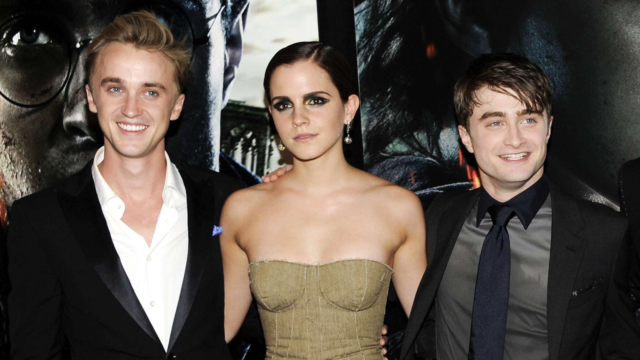 Harry Potter : Tom Felton nostalgique, dévoile une vidéo inédite avec Emma Watson et Daniel Radcliffe