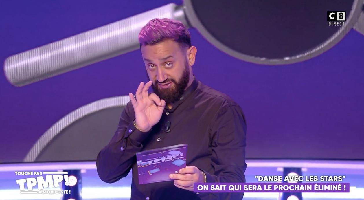 VIDEO Cyril Hanouna pense savoir qui est le prochain éliminé de Danse avec les Stars
