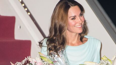 Kate Middleton à la pointe de la mode pour son voyage officiel !