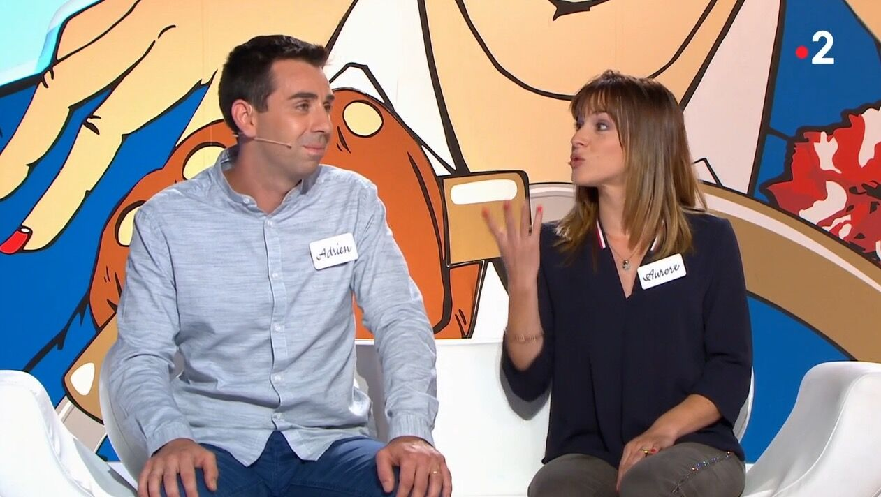 VIDEO Les Z'amours : une candidate s'énerve contre son mari qui enchaîne les bourdes