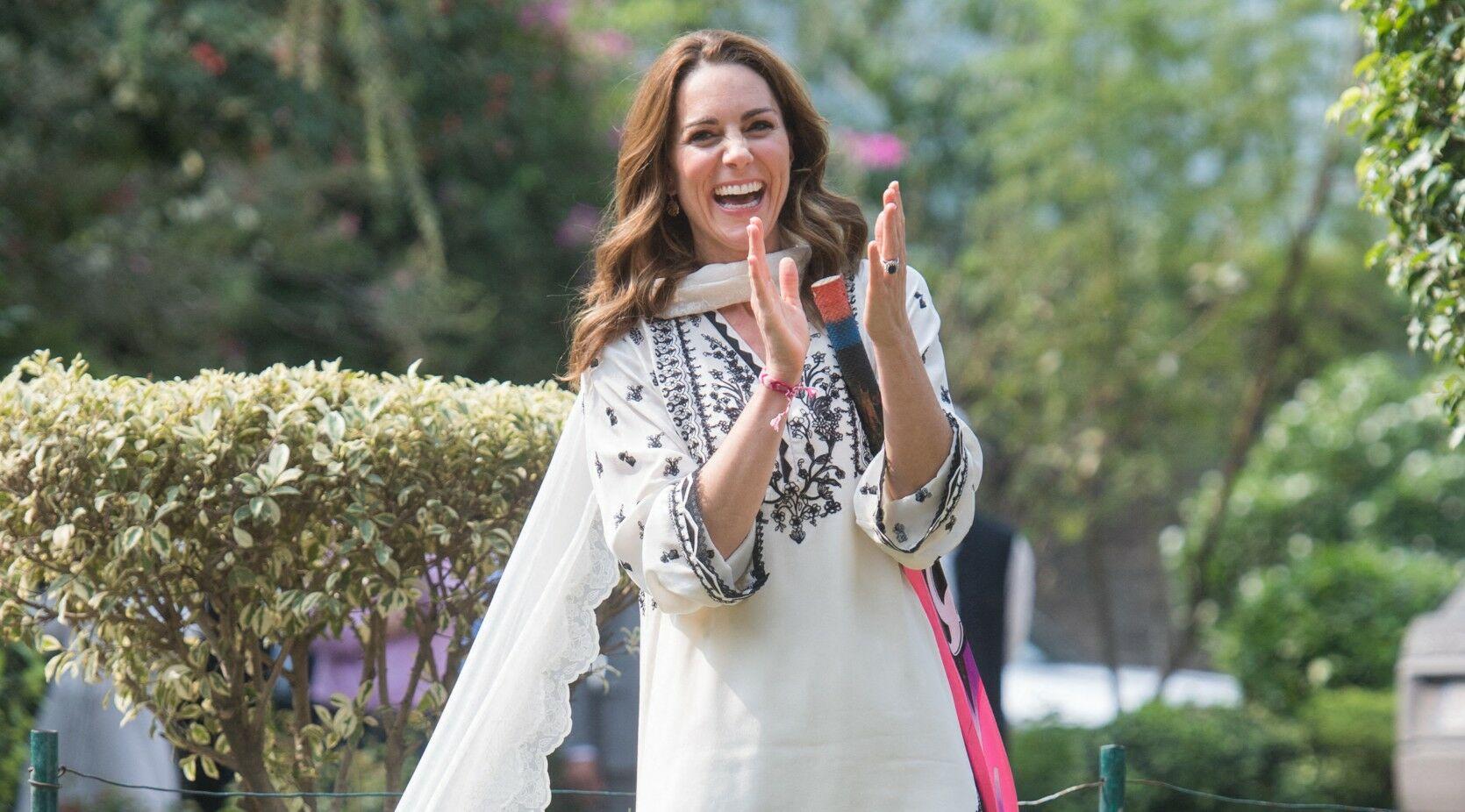 Kate Middleton au Pakistan : découvrez le coût exorbitant de sa garde-robe!
