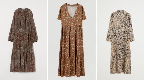 Tendance automne/hiver: 10 robes longues à moins de 50 euros