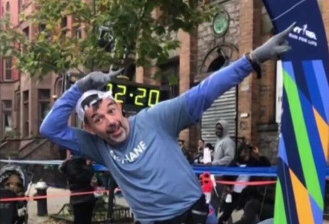 VIDEO Stéphane Plaza participe au marathon de New York… et se retrouve dans le journal télévisé