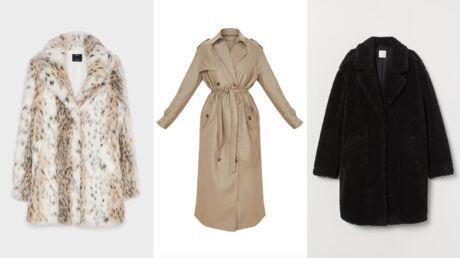 Tendance automne/hiver: 10 manteaux à moins de 100€ sur lesquels craquer