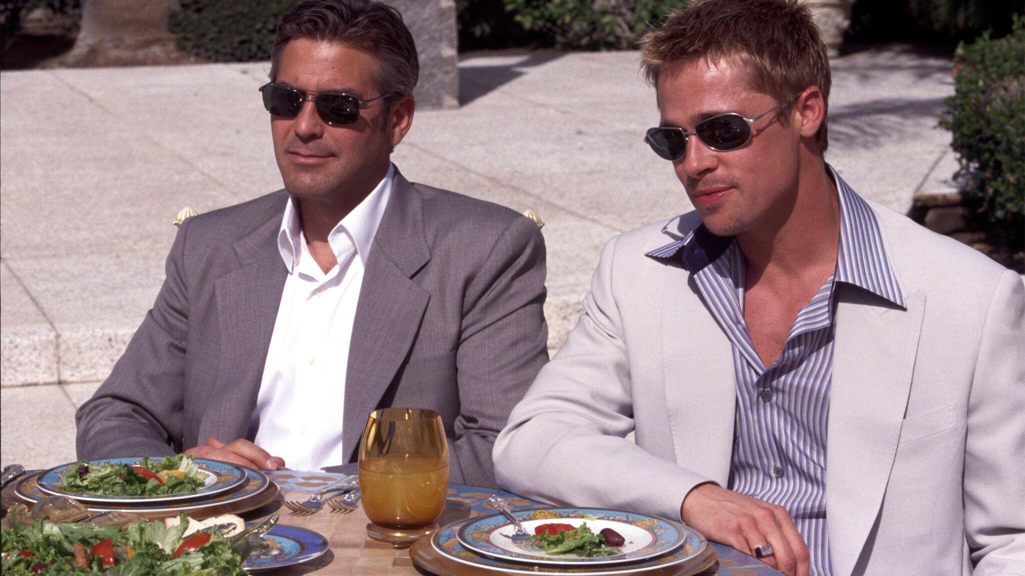 Ocean's Eleven : pourquoi Brad Pitt mange-t-il tout le temps dans le film?