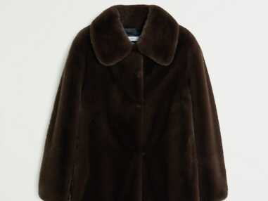 15 manteaux en fausse fourrure à moins de 100€