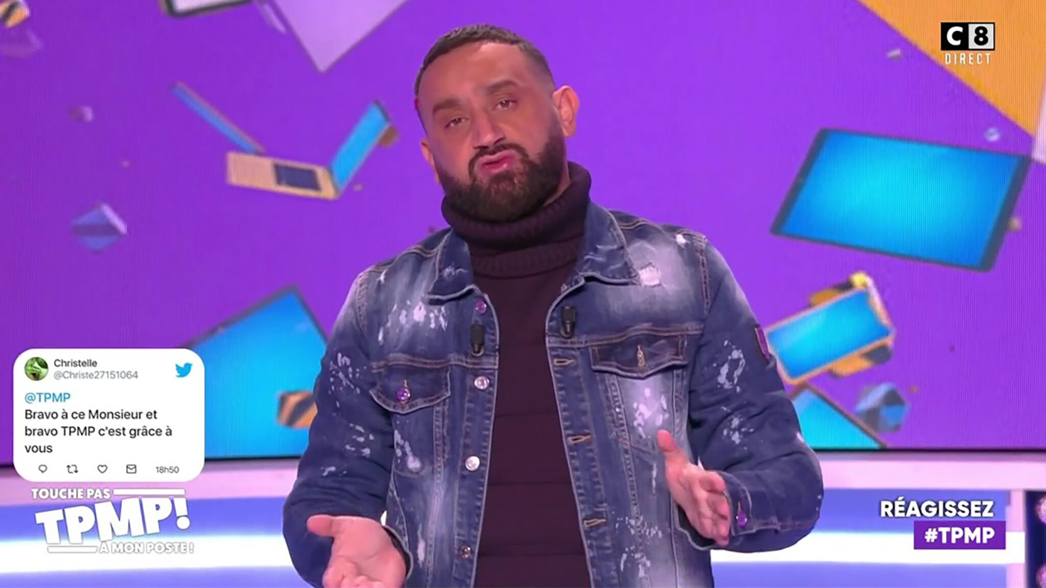 VIDEO Cyril Hanouna refuse de serrer la main de ses chroniqueurs : son étonnante explication