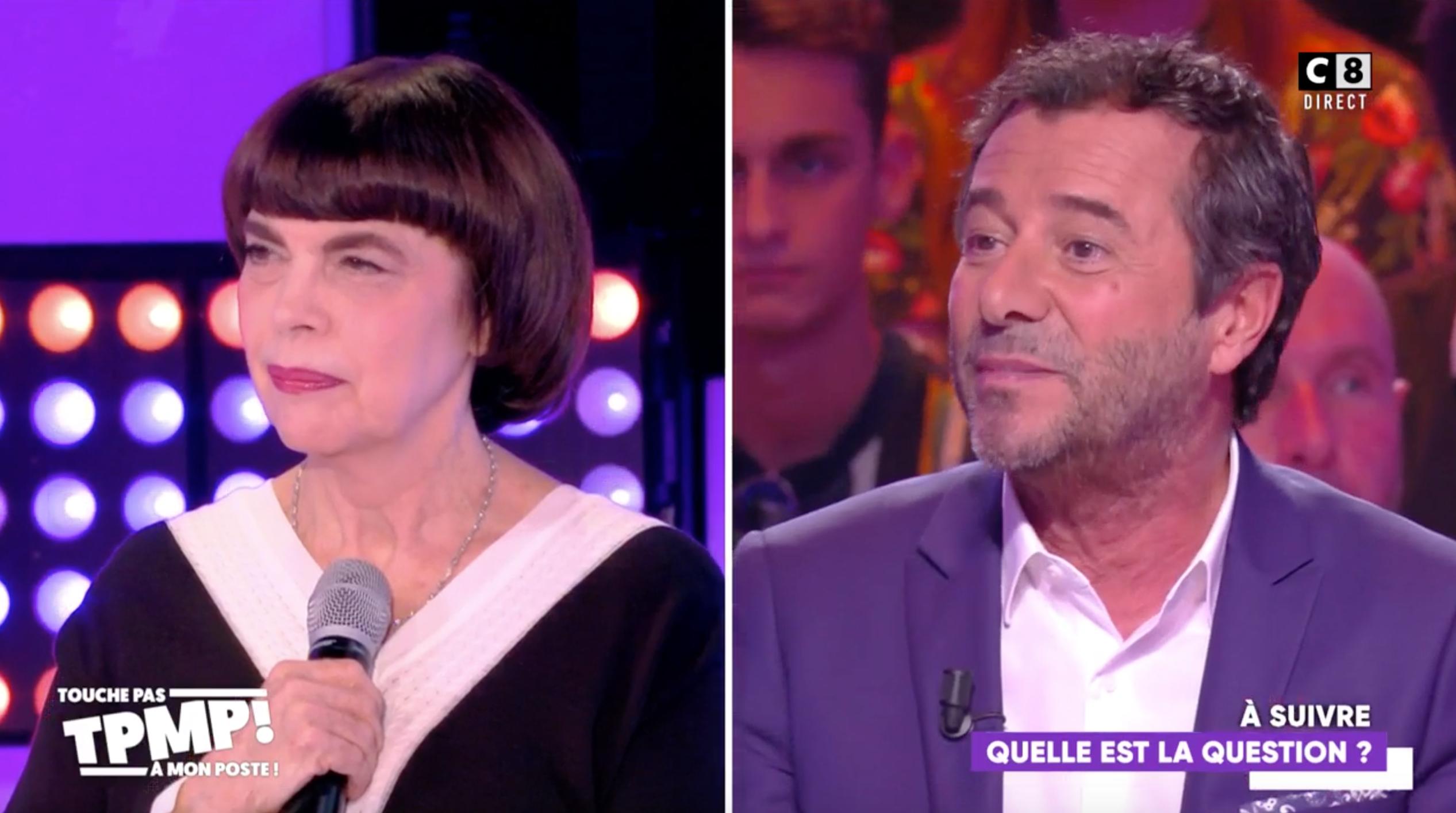 VIDEO Mireille Mathieu fâchée avec Bernard Montiel : leur mise au point dans TPMP