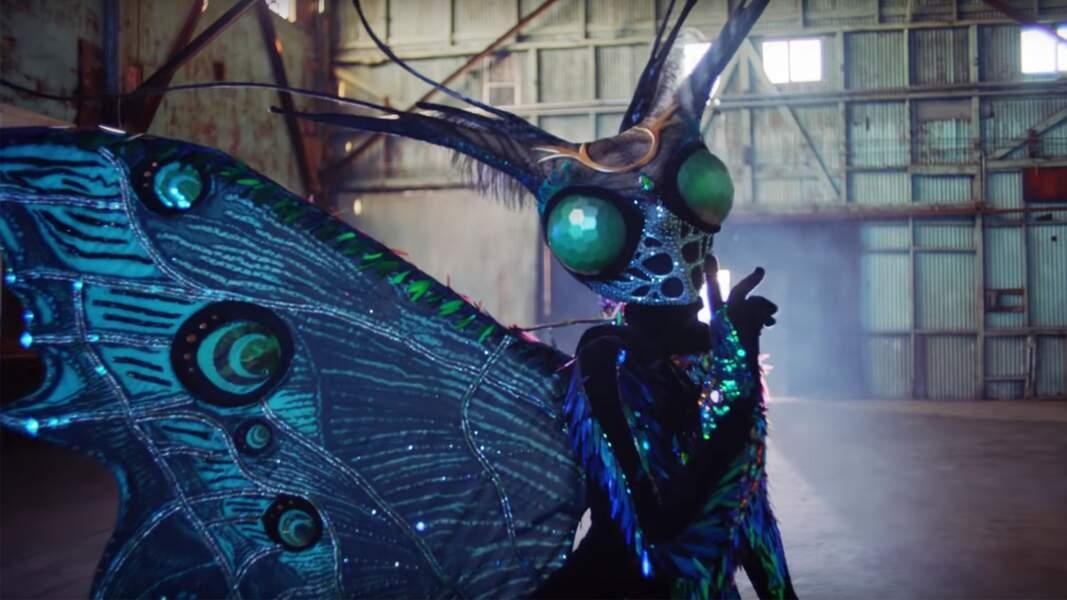Le papillon de The Masked Singer était...