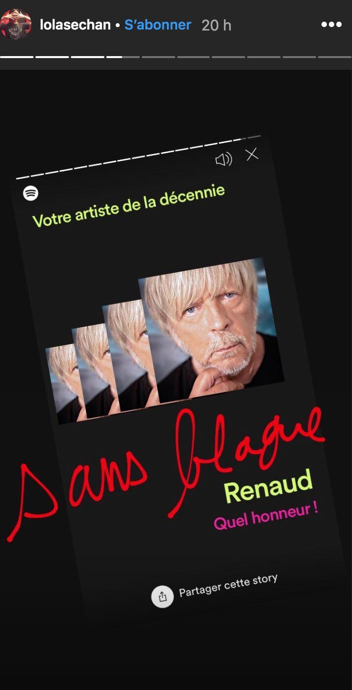 Renaud : la blague osée et très drôle de sa fille Lolita sur son héritage
