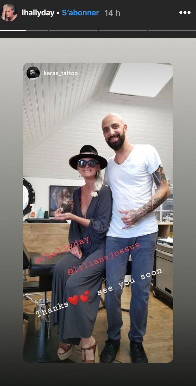Laeticia Hallyday dévoile un nouveau tatouage énigmatique