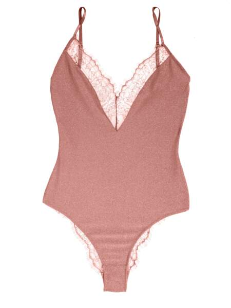 Body pink sparkle Charlie, Girls in paris, 59€