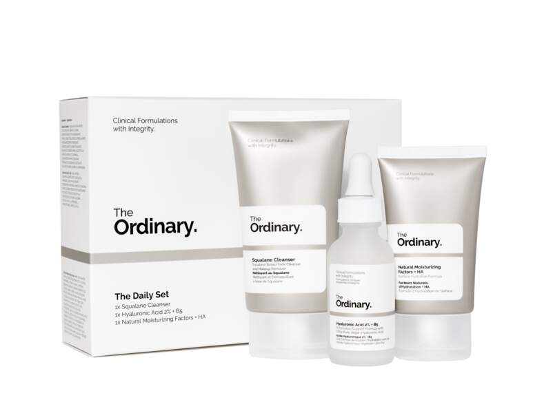Kit The Daily Set, The Ordinary sur Deciem, 18€