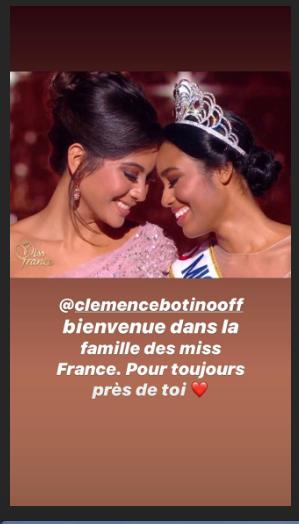 Miss France 2020 : le magnifique message de Vaimalama Chaves à Clémence Botino
