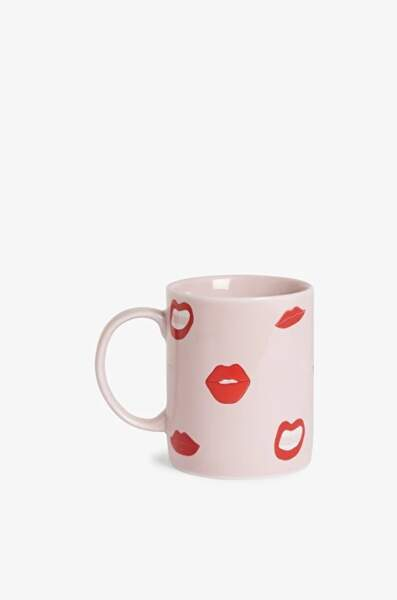 Lippy mug, Monki, 6€