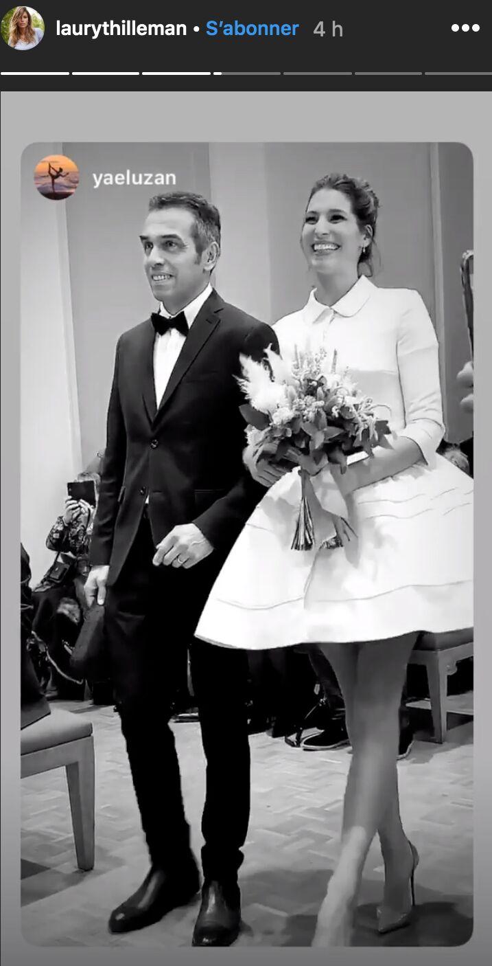 PHOTOS Laury Thilleman mariée  elle a dit « oui » à son