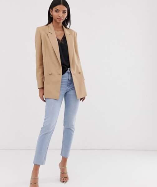 Blazer beige perfect blazer, Asos Design, 62,99€