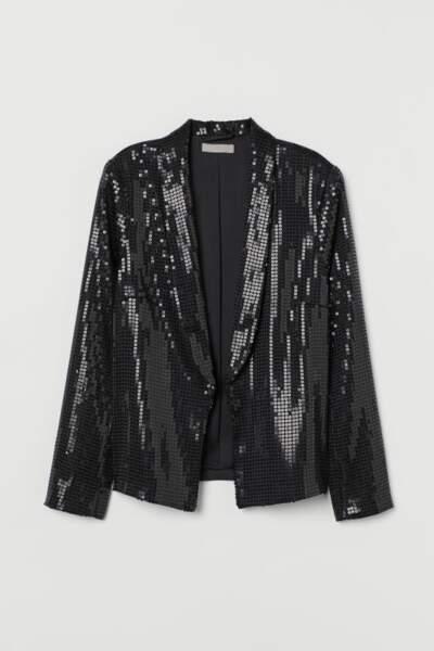 Blazer à paillettes, H&M, 39,99€