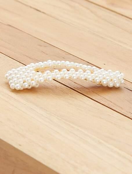 Barrette à perles, Kiabi, 3€