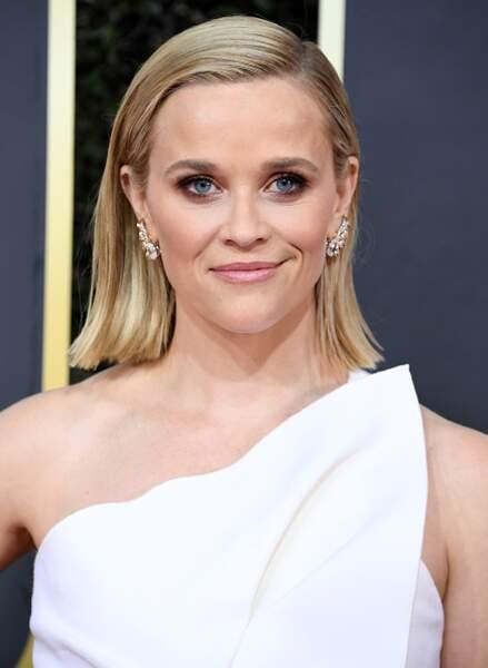 Le teint frais et le wet look de Reese Witherspoon