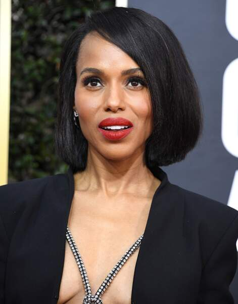 La bouche rouge de Kerry Washington