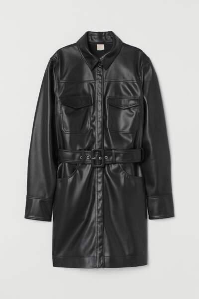 Robe chemise avec ceinture, H&M, 49,99€ au lieu de 89,99€