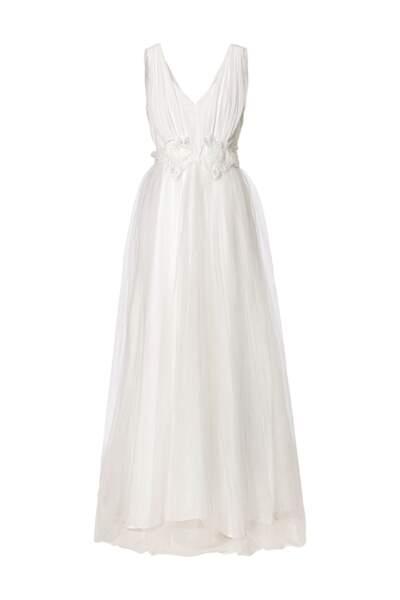 Robe longue en tulle avec détails brodés, C&A, 179,90 €